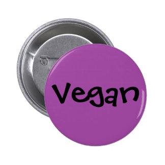 Vegan 6 Cm Round Badge