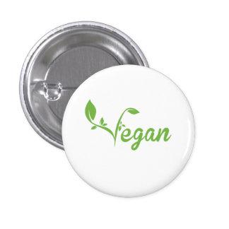 Vegan 3 Cm Round Badge