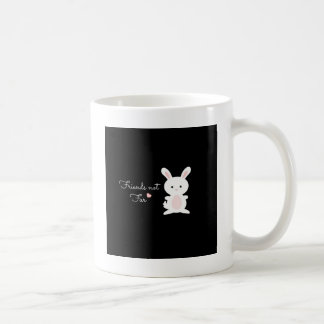 "Vegan Bunny ""Friends Not Fur"" Mug"