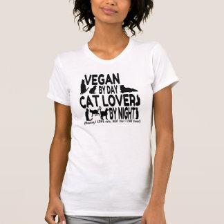 Vegan Cat Lover Humor T Shirt