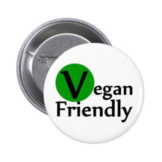 Vegan Friendly 6 Cm Round Badge