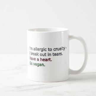Vegan - Have a heart Coffee Mugs
