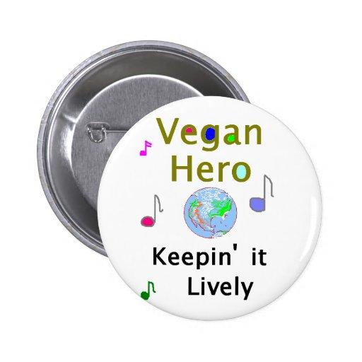Vegan Hero Button