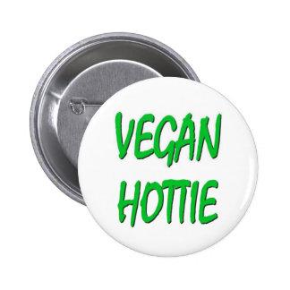 VEGAN HOTTIE Button