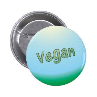 Vegan land pinback buttons