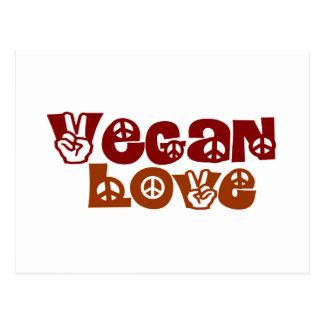 Vegan Love Post Cards