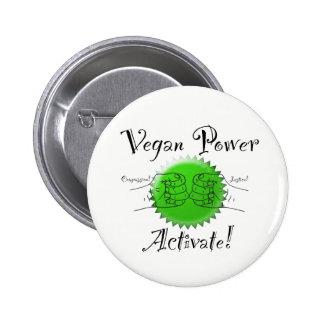 Vegan Power Activate Button