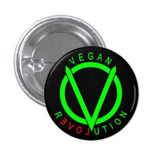 Vegan Revolution Button Pin