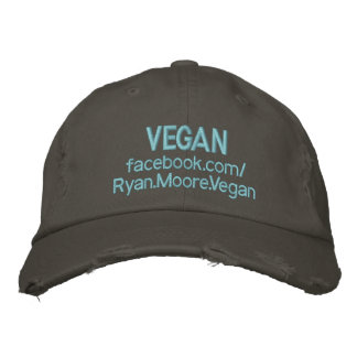 VEGAN Ryan.Moore.Vegan Embroidered Hat