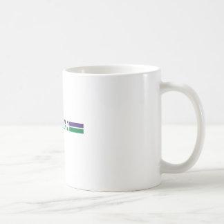 Vegan Stripes Basic White Mug