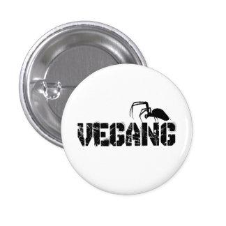 Vegang swipes in 3 cm round badge