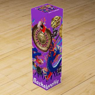Vegas Bachelor Bachelorette Party Customize Wine Boxes