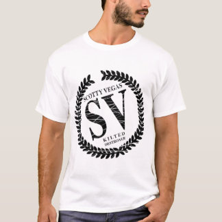 Vegas Logo 2 Tone T-Shirt