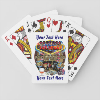 Vegas Style Poker Pool Party 1 Playing Cards