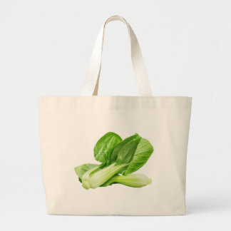 Vegetables Green Chinese Cabbage. Large Tote Bag