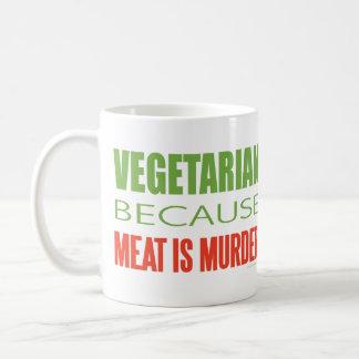 Vegetarian Basic White Mug