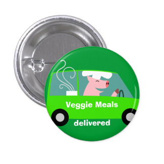Vegetarian Catering Delivery Pins