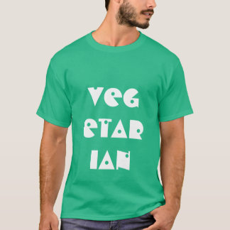 Vegetarian Men's T-Shirt - Size: Small