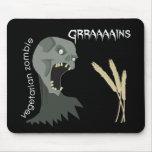 Vegetarian Zombie wants Graaaains! Mousemat