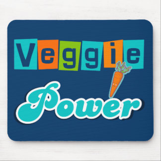 Veggie Power Mouse Pad
