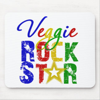 Veggie Rock Star 2 Mouse Pad
