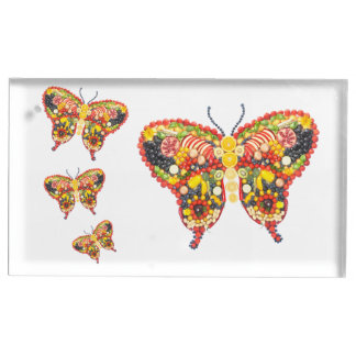 VeggieArt butterflys Table Card Holder