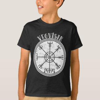 VEGVISIR  Icelandic Magical Stave T-Shirt
