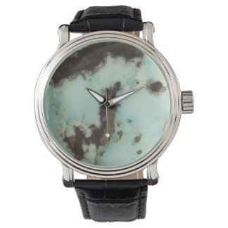 Veined Natural Turquoise Watch