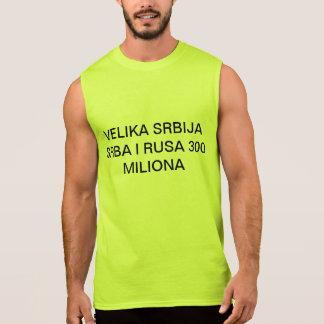 VELIKA SRBIJA SLEEVELESS SHIRTS