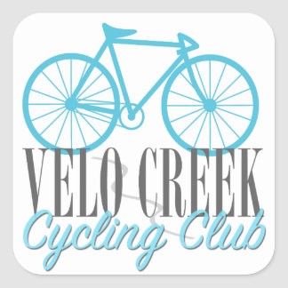 Velo Creek Vinyl Sticker