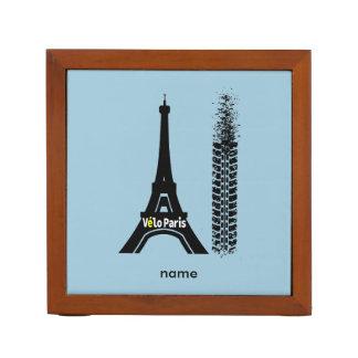 Velo Paris Bike Eiffel Tower Desk Organiser
