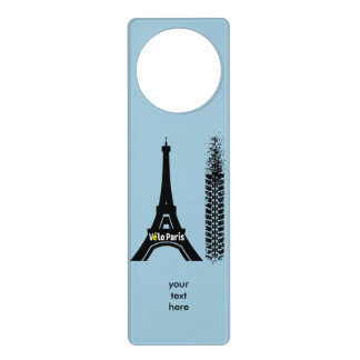 Velo Paris Bike Eiffel Tower Door Hanger