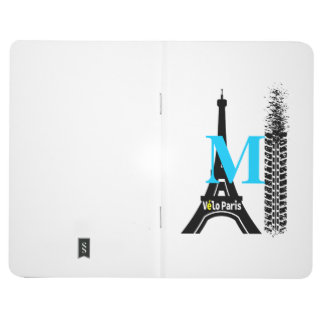 Velo Paris Bike Eiffel Tower Journal