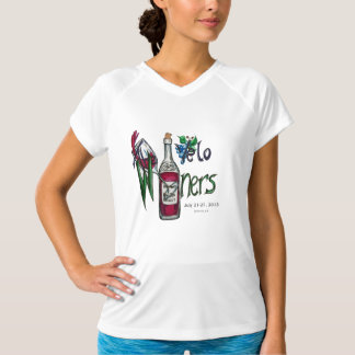 Velo Winers Cyclists Bon Ton 2013 Ladies t-shirt