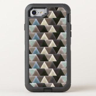 Velvet Geometry Elegant Pattern OtterBox Defender iPhone 8/7 Case