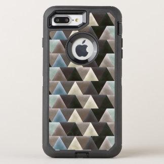 Velvet Geometry Modern Pattern OtterBox Defender iPhone 8 Plus/7 Plus Case