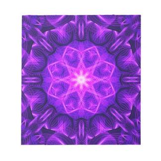 Velvet Star Mandala Notepad