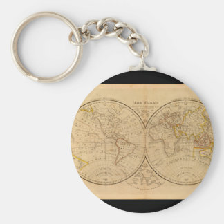 Venerable World Map 9_Maps of Antiquity Key Ring