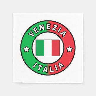 Venezia Italia Paper Napkin