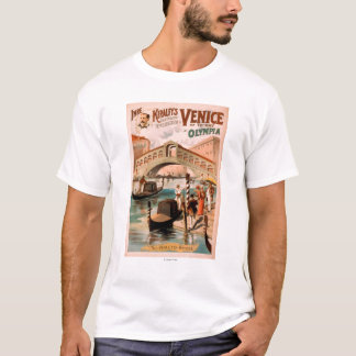 Venice, Bride of the Sea at Olympia Gondolas 2 T-Shirt