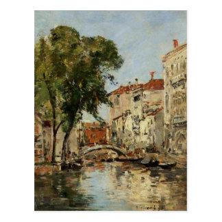 Venice by Eugene Boudin Postcard