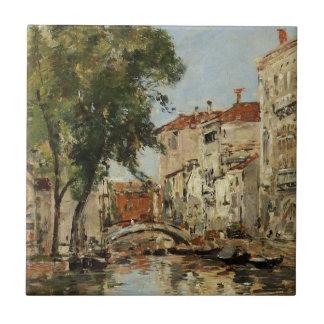 Venice by Eugene Boudin Tile