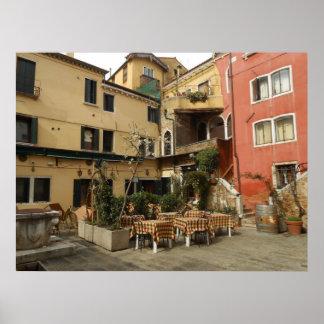 Venice Cafe Poster