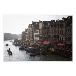 Venice canals photo print