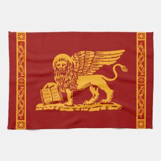 Venice Coat of Arms Tea Towel