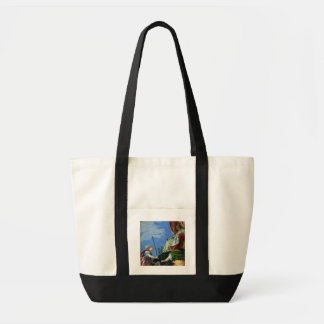 Venice enthroned between Justice and Peace Tote Bag