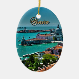 Venice, Italy - Aerial View Christmas Ornament