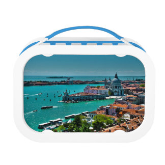 Venice, Italy - Aerial View Lunch Box
