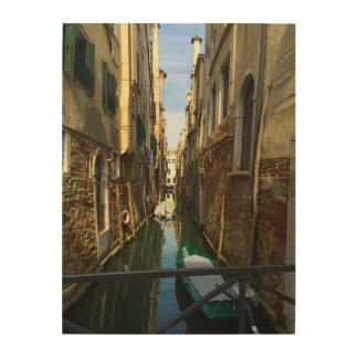 Venice, Italy Architecture Wood Wall Art Wood Canvases