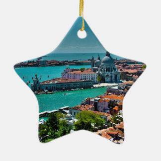 Venice, Italy - Bird's Eye View Christmas Ornament